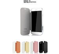 promotion une bei étuis en cuir série de téléphone pour Samsung Galaxy i9080 grande / i9082 (couleurs assorties)