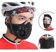 WOLFBIKE Anti-pollution Face Cover Cycling Mask - Black