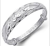 925 стерлингового серебра каждый год больше, чем браслет браслет Рыбы