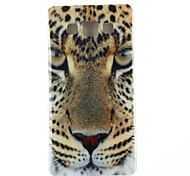 Yellow Eyes Pattern TPU Soft Case for Samsung Galaxy A3/A3000