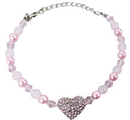 Pet Ornaments Exquisite Pearl Necklace Small Size for Pet Dogs