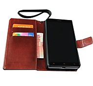 Retro PU Leather Wallet Case for Xiaomi Redmi Note (Assorted Colors)