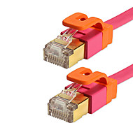 1M 3.28FT Cat7 Network Cable Family Colorful Pure Copper Computer Router Network Connection Cable