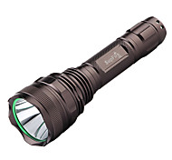 SupFire F9 5-Mode Cree XM-L2 T6 LED Flashlight(1100LM,1*18650,Brown)