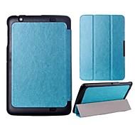hochwertigen Klapp Leder Ganzkörper-Fall für lg v700 (farblich sortiert)