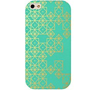 Gold Diomand Pattern Back Case for iphone 4/4S