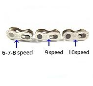 oeste biking® kmc 3 em 1 cadeia botão mágico de 9 velocidades de 8 velocidades de 10 velocidades cadeia de 7 velocidades fivela cadeia de bicicleta