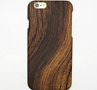 Wood Grain Pattern PC Back Cover for iPhone 6