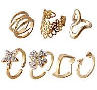 Klee Blume Sternen Ring