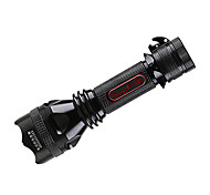 SupFire Y8 Rechargeable 5-Mode Cree Q5 Tactical LED Flashlight(350LM,1*18650,Black)