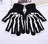 Unisex 3-Finger Capacitive Screen Touching Acrylic Winter Warm Gloves for iPhone 6/iPad and Others