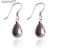 Lureme®Water Drop Shaped Pearl Earring