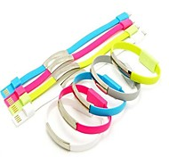 Fashion Portable Wrist Magnet Sync Charging Bracelet Data Cable for iphone 5s 6 6plus
