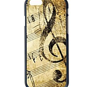 """Doopootoo™ Fashion Music Notes Painted Pattern Slim Plastic Back Hard Case Cover For iPhone 6 4.7"""""""