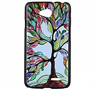 Multicolour Tree Pattern PC Hard Back Case for LG L70