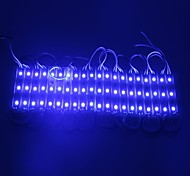ip65 5050smd 0.6W impermeable de color azul claro módulo LED tira duro lámpara de luz bar (12v dc, 20pcs)