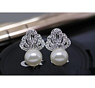 Love Is Your Crown Pearl Stud Earring