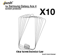 High Transparency HD LCD Screen Protector for Samsung Galaxy Ace 4 G313H (10 Pieces)