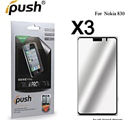 High Transparency Mirror LCD Screen Protector for Nokia 830 (3 Pieces)
