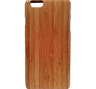 Kyuet Bamboo Case Artist Made Natural Bamboo Shell Cover Skin Cell Phone Case for iPhone 6 Plus