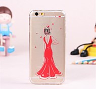 Personality Pattern TPU Soft Cover for iPhone 6
