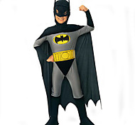 Bat ShapedGraySuitsHalloweenKid'sCostume(Length:100cmfor7-9YearsBoys)