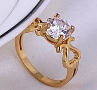 High Grade AAA Zircon Ring