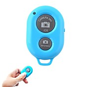 Bluetooth Remote Control Self Timer Camera Shutter for Samsung Phones with  iOS Android Phone