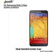 hohe Transparenz HD-LCD-Screen Protector mit Reinigungstuch für Samsung-Galaxie Anmerkung3 neo