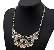 Women's Fashion Butterfly Alloy Necklace