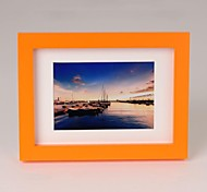 Personalized Framed Photo 5 inches Colourful Wooden Frame with Hanging Hook 1 Photo