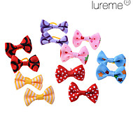 Dog Hair Accessories Spring/Fall - Red / Blue / Pink / Yellow / Purple Cotton