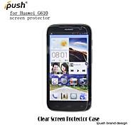 protetor de tela LCD HD de alta transparência para Huawei G610