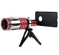 50X Optical Zoom Telephoto Lens  with /Tripod Mount / Back Case for iPhone 6 Plus