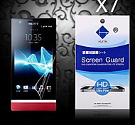 HD Screen Protector with Dust-Absorber for Sony LT22i (7 PCS)