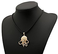 Women's Fashion Octopus Alloy Necklace