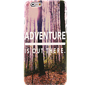 Adventure is Out There  Design Hard Case for iPhone 6 Plus