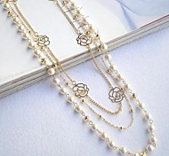 Choker Necklaces Pearl / Alloy Wedding / Party / Daily / Casual / Sports Jewelry