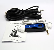 bluetooth audio bluetooth transmisor v4.0 A2DP estéreo receptor de música de audio de 3.5mm / mini usb - negro + azul