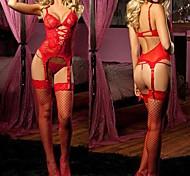 red pink Männer Slim Fit sexy Nachtwäsche