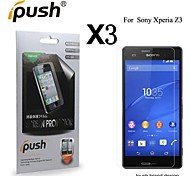 High Transparency Matte LCD Front Screen Protector for Sony Xperia Z3 (3 Pieces)
