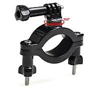 toz 360 grados polo tija de sillín de la bici rotatio moto manillar montaje soporte para GoPro héroe 4.3 + / 3/2