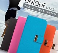 promotion sept wei série téléphone étuis en cuir pour Samsung Galaxy i9080 grande / i9082 (couleurs assorties)