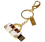 RED  metal diamond crystal Bag Model USB 2.0 Memory Flash Stick Pen Drive4GB
