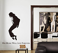 Fashion Forever Michael Jackson PVC Wall Stickers Wall Art Decals