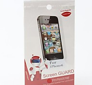 Clear Screen Protector with Cleaning Cloth for iPhone 6