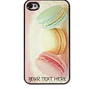personalizzato phone case - pane caso di disegno del metallo per iPhone 4 / 4S