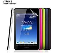 alto protector de pantalla transparente para memo pad asus hd 7 película protectora me173x tableta de 7 pulgadas