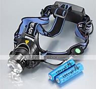 Luci Torce frontali LED 1200 Lumens 3 Modo Cree XM-L T6 18650 Impermeabili RicaricabileCampeggio/Escursionismo/Speleologia Uso quotidiano