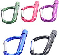 Quick Release Bag Carabiner With Torch (Random Color)